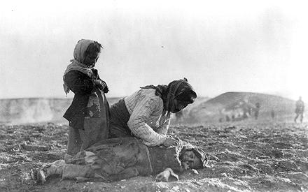 """""""Habichtnäsige"""" armenische Flüchtlinge in Syrien 1915"""