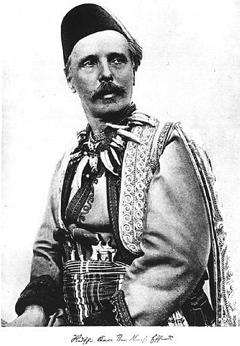Karl May 1896 als Romanfigur Ben Nemsi | Foto: Adolf Nunwarz/Alois Schiesser