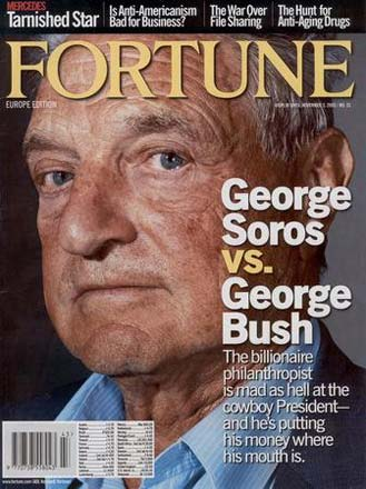 Fortune Cover Georg Soros