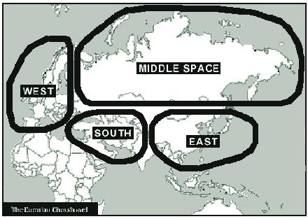 Globales Der neue Kalte Krieg des Obama-Beraters Zbigniew Brzezinski Brzezinskis-Eurasisches-Schachbrett