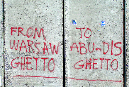 Ghetto Wall around Palestine Foto: Bright Tal