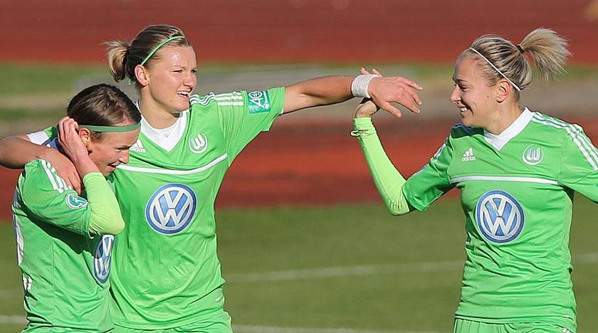 Siege von Arsenal und Wolfsburg - UEFA Women´s Champions