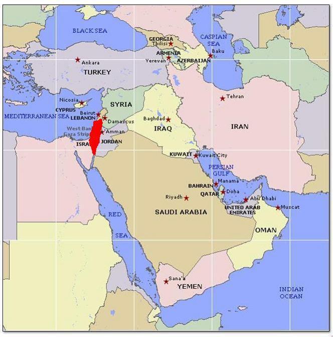 Israel Zeitzone