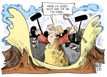 interpretierte karikatur globalisierung