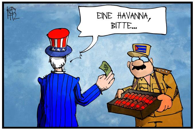 Annäherung zwischen USA und Kuba
