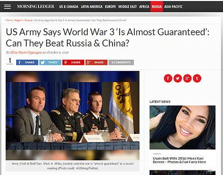 droht ein dritter weltkrieg