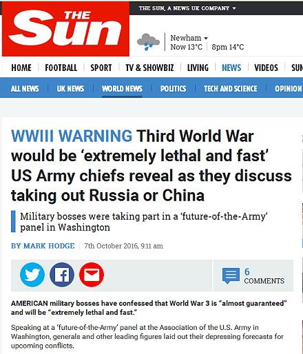 kommt es zum dritten weltkrieg