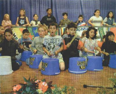 Lamboy-Kids der Hanauer Gebeschusschule