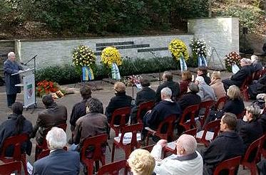 Wenzelnberg Gedenkfeier am Mahnmal